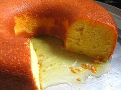 Receita de Bolo úmido de laranja - Tudo Gostoso