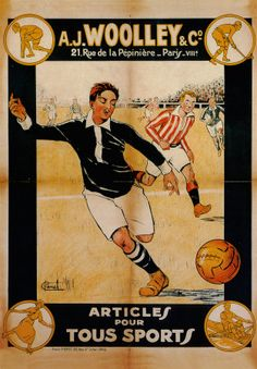 24 Best Vintage Soccer Posters Images On Pinterest