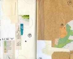 collage:::art journal::: by katie licht
