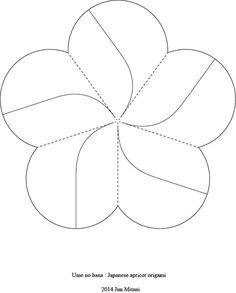 20140107 The crease pattern of 'Ume no hana'   Flickr: partage de photos******************