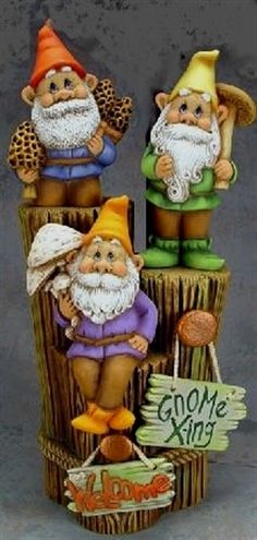 The 10 superlative garden gnomes to buy on amazon. Gnomes Female. #garden #gnome #gardengnomes #gardendecoration Garden Gnome Trio by CeramicsbyMelody on Etsy, $42.00 Source: http://www.etsy.com/listing/67223906/garden-gnome-trio?utm_source=Pinterest&utm_medium=PageTools&utm_campaign=Share