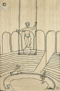 Alexander Calder | Circus weaving