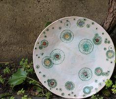 ceramic plate by nomen omen studio