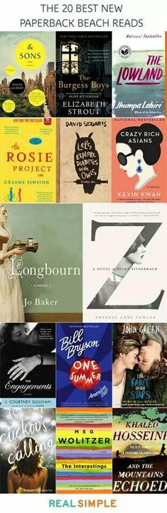 Summer beach reading suggestions