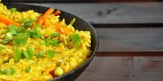 Curry Coconut Thai Rice with Peppers | Gourmandelle.com