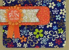 """""""Hello Sunshine"""" card by Stephanie Matlack, Design Team member."""