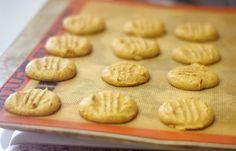 Pumpkin Pie Cookies: 1 c. creamy almond butter  1/2 c. pumpkin puree  1/4 c. pure maple syrup (or sweetener of choice)  2 tsp pumpkin pie spice  1 tsp vanilla extract  1/4 tsp sea salt  optional: 1/2 c. dark chocolate chips