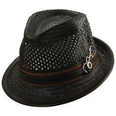 Peter Grimm Mens Butch Diamond Snake Print Western Cowboy Hat