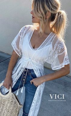 Cute outfit idea to copy ♥ For more inspiration join our group Amazing Things ♥ You might also like these related products: - Vests ->. Spring Summer Fashion, Spring Outfits, Boho Fashion, Fashion Outfits, Bohemian Mode, Rock Chic, Mode Inspiration, Dress Me Up, Get Dressed