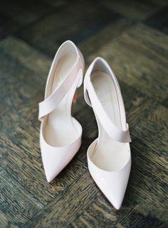 White Wedding Shoes, Christian Louboutin, Photo: Kat Braman
