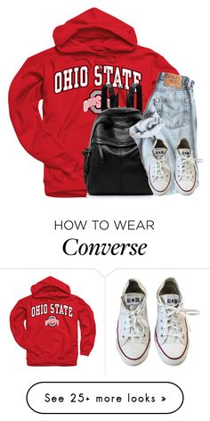 """""""simple set"""" by arielforlife on Polyvore featuring Converse"""