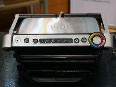 The T-Fal OptiGrill ($179) promises to take all the guesswork out of grilling. It sense the weight and thickness of meat and then helps you grill to your preferred doneness. #tfal #ihhs13 #kitchenappliances