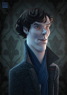 Benedict by Andrew Hickinbottom | Caricature | 3D | CGSociety