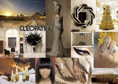 Egyptian Inspiration in black and gold