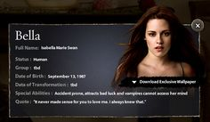 Bella Swan-New Moon by hvyilnr, via Flickr