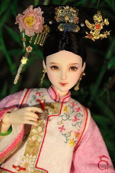 I 古装娃娃 sid 和硕柔嘉公主