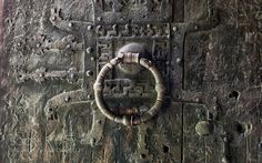 Medieval Stave Church Front Door by bjornerikpedersen. @go4fotos