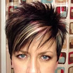 Today we have the most stylish 86 Cute Short Pixie Haircuts. We claim that you have never seen such elegant and eye-catching short hairstyles before. Pixie haircut, of course, offers a lot of options for the hair of the ladies'… Continue Reading → Short Hairstyles For Thick Hair, Short Pixie Haircuts, Short Hair Cuts For Women, Short Hair Styles, Short Cuts, Pixie Haircut For Thick Hair, Funky Short Hair, Short Choppy Hair, Sassy Hair