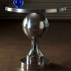 Orb Pedestal Table