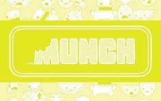Run! Monsters!!!!! 'Monstrous' branding approach for Munch Fresh Foods!