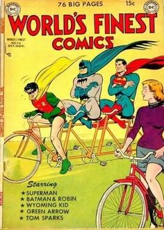 Hilarious Vintage Comic Book Covers