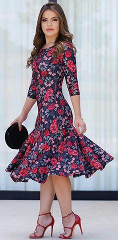 Modest Fashion, Fashion Dresses, Fashion Clothes, Short Dresses, Summer Dresses, Floral Chiffon, Western Dresses, Elegant Outfit, African Dress