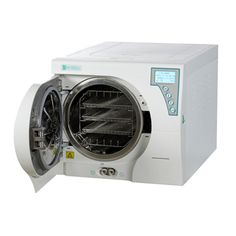 This autoclave 23 liters is a steam sterilizer Class B with tank unique design. The electronic door lock provides security for sterilization; the printer and the USB port allow you different ways to retain data.