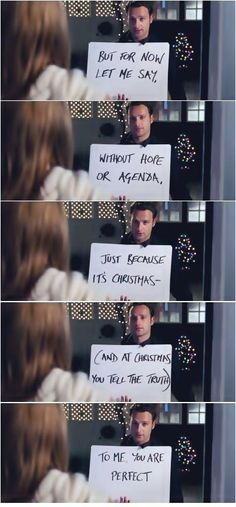 Love Actually (2003) -- Keira Knightley, Andrew Lincoln, Hugh Grant, Liam Neeson, Bill Nighy---i wish this really happened