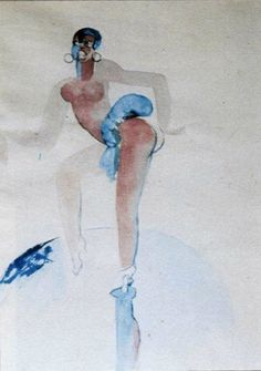 """Josephine Baker"", Le Corbusier"
