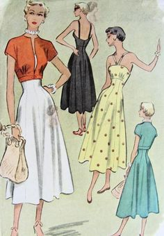 Vintage Mccall Sewing Pattern 7910