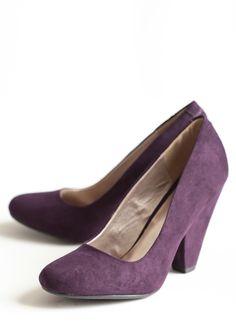 Blissful Season Pumps In Purple   Modern Vintage Shoes
