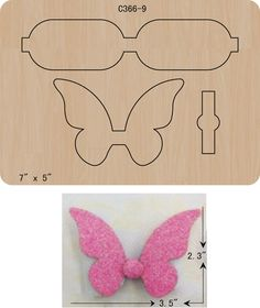 Diy Crafts - The thickness is and is compatible with most leading machines. Can't find what you need? Making Hair Bows, Diy Hair Bows, Diy Bow, Hair Ribbons, Ribbon Bows, Barrettes, Hairbows, Bow Template, Hair Bow Tutorial