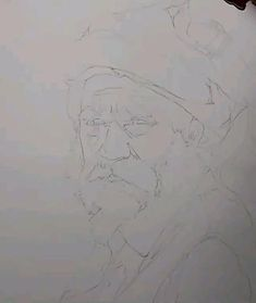 Watercolor Art Face, Watercolor Art Lessons, Watercolor Artists, Watercolor Portraits, Watercolor Illustration, Watercolor Paintings, Easy Drawings Sketches, Pencil Art Drawings, Art And Craft Videos
