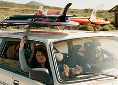 surfer girl road trip