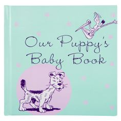 New year, new pup? Capture the memories with this great gift! #puppy #petsmart #babybook