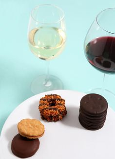 Milk? No, Thanks. Pair That Girl Scout Cookie With The Perfect Glass of Wine