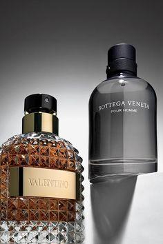 Freshen up for a new season with Valentino Uomo and Bottega Veneta Pour Homme. Best Perfume For Men, Best Fragrance For Men, Best Fragrances, Perfume And Cologne, Perfume Oils, The Body Shop, Perfume Organization, Sephora, Perfume Display