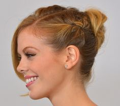 Here's Another Beautiful Braided Bun to Add to Your Must-Try Hairstyle List: Girls in the Beauty Department