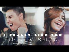 I Really Like You/Kamulah Satu-Satunya MASHUP- Sam Tsui, Eka Gustiwana, Nadya Rafika - YouTube