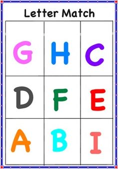 This is a great literacy activity to do with preschoolers to help encourage letter recognition skills. Use magnetic letters and have the children match the magnetic letters to the letters on the game board.