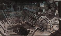 """""""Atlantis: The Lost Empire"""" concept art by Jim Martin"""