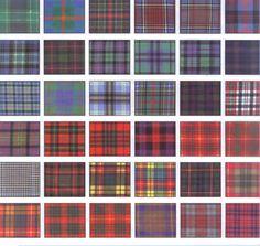 Tartan ~ I'm thinking plaid rug in the boys room? Irish Tartan, Tartan Kilt, London Underground, Harris Tweed, Fabric Patterns, Print Patterns, Barbour, Scottish Tartans, Textiles