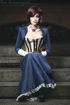 you could even do this elizabeth cosplay if you want! it would be neat :) both elizabeths running around, it would be awesome