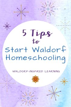 How do you start Waldorf homeschooling? Where do you even begin? Perhaps you've been at this awhile but you're about to start a new Waldorf homeschooling year. Here are 5 tips you should know when you start Waldorf homeschooling, no matter how much experience you have! #waldorfhomeschooling #startingwithwaldorf Curriculum Planning, Homeschool Curriculum, Inspired Learning, How To Start Homeschooling, Teaching Style, Waldorf Education, Teaching Methods, Play Based Learning, Hands On Activities