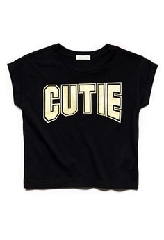 Collect quirky tees, camis and peplum tops for girls | Forever 21