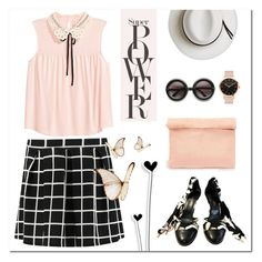 """""""Checked!"""" by polly301 ❤ liked on Polyvore featuring Chanel, Retrò and Calypso Private Label"""