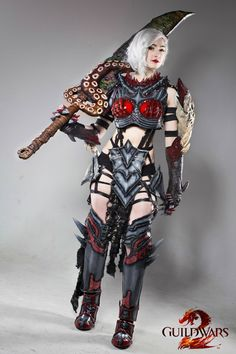 Warrior from Guild Wars 2 Cosplay http://geekxgirls.com/article.php?ID=4414