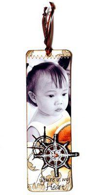 DIY bookmark of ur own babies: Tag/Bookmark Gallery