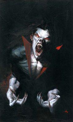 Michael Morbius. The living Vampire!