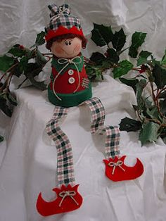 homemade elf on the shelf.... I love DIY so this would mean so much more to us :)
